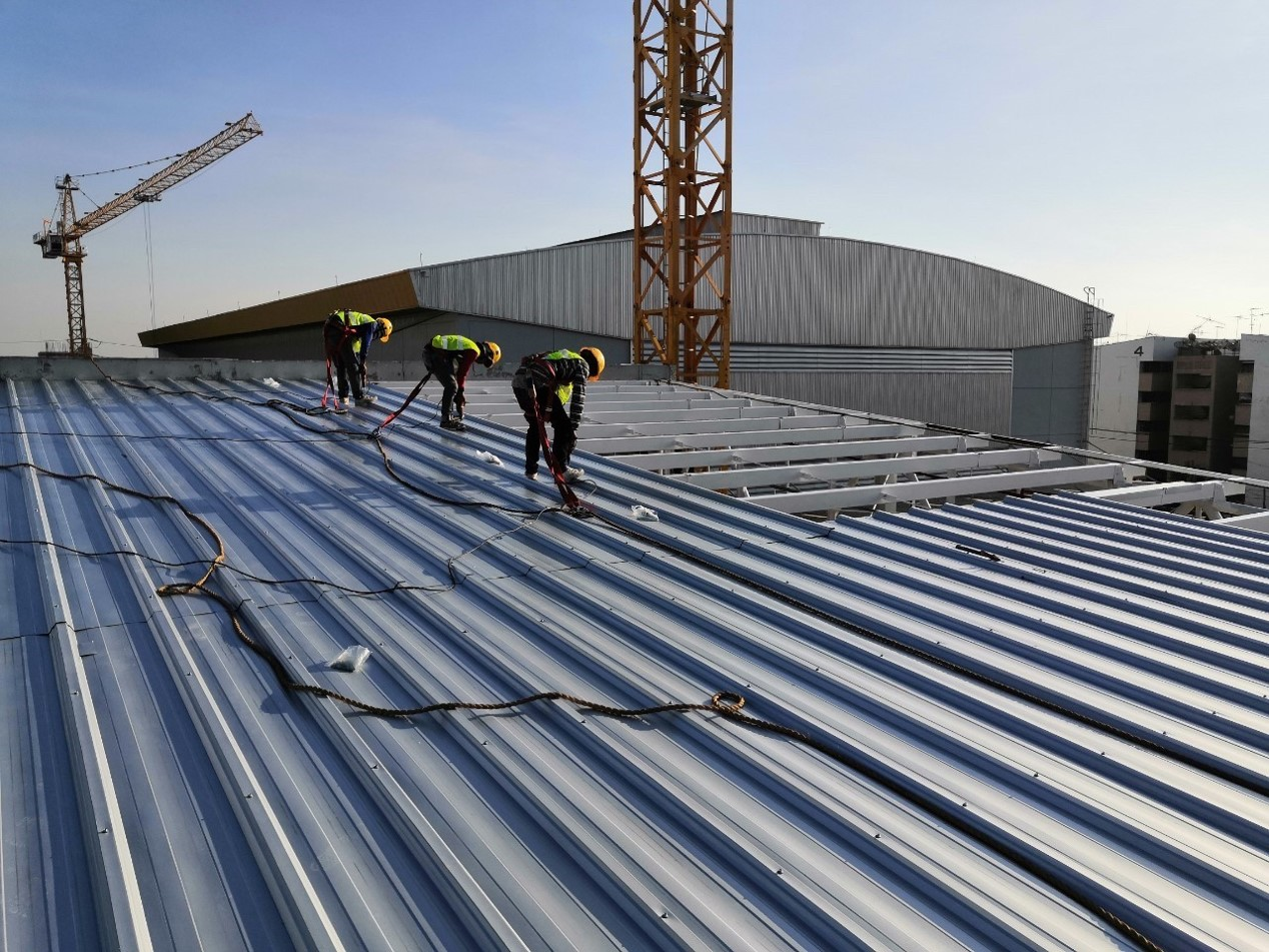 Insulated Panels and Roof Construction
